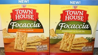 Keebler Town House Focaccia: Tuscan Cheese And Rosemary & Olive Oil Review