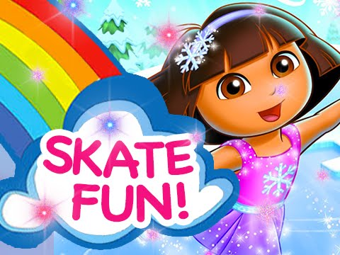 Dora the Explorer | Dora Skating Ballet Adventures - Games For Kids