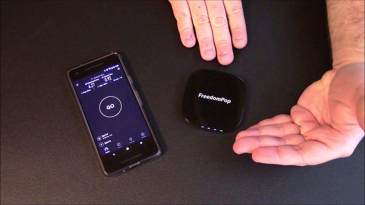 FreedomPop SuperNova 4G LTE 3G Mobile Hotspot