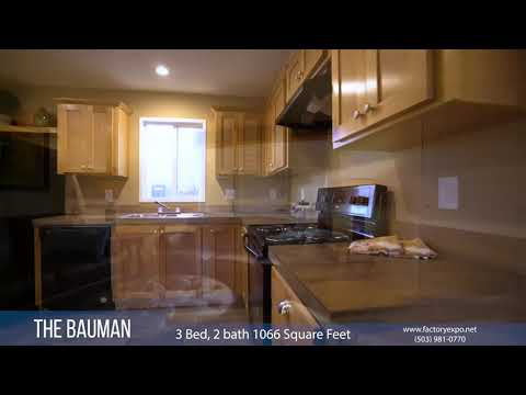 The Bauman Manufactured Homes From Factory Expo Home Centers