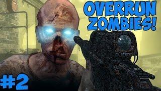 """EASTER EGG & BUYABLE ENDING!"" - Custom Zombies ""OVERRUN"" FINALE (CoD WaW Custom Zombies)"