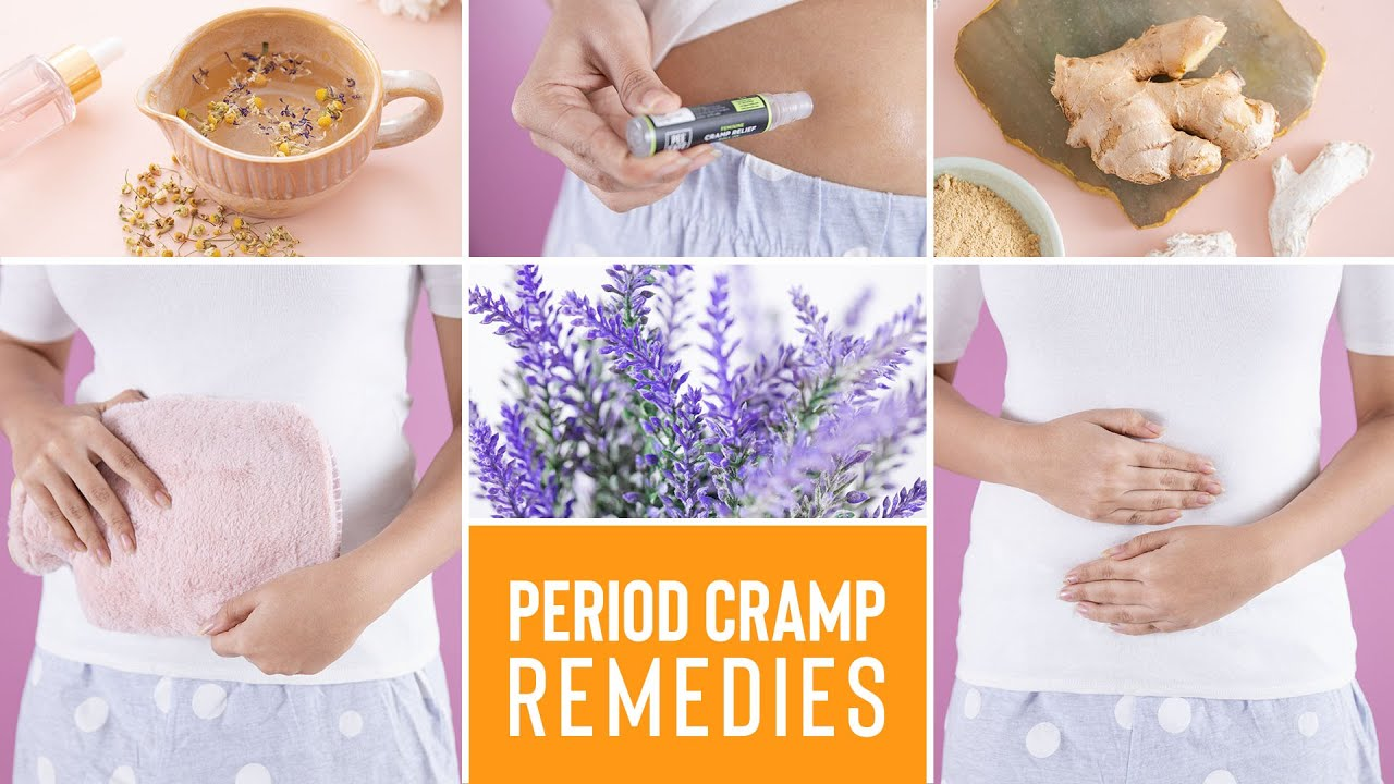 Say GOODBYE to PERIOD CRAMPS with these amazing remedies