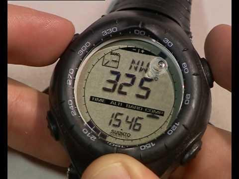 Suunto Vector - How to calibrate a compass