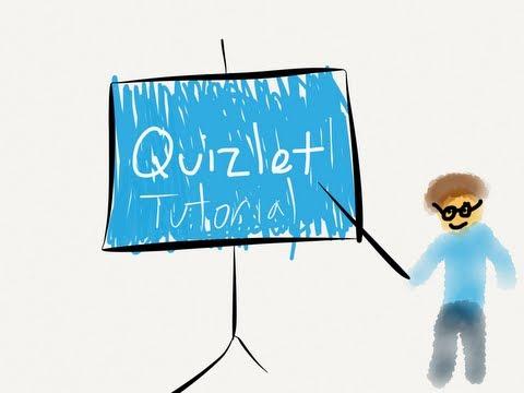Tutorials: Quizlet