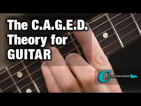 "GUITAR THEORY: The ""CAGED"" System"