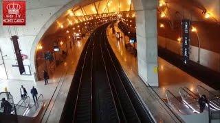 Monte Carlo. Monaco. Монте Карло . Монако. Вокзал Монако(Роскошь Монако. Вокзал княжества Монако. Gare de monaco., 2017-01-09T16:50:31.000Z)