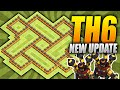 Clash of Clans – EPIC TH6 Farming Base! – NEW Two Air Defense Update – (CoC Town hall 6 Hybrid Base)