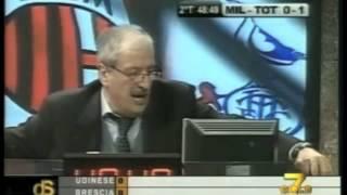 Tiziano Crudeli storico 2011: un uomo distrutto dopo Milan Tottenham 0-1