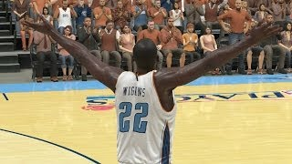 Andrew Wiggins Playoffs Round 1 Game 4 vs. Bulls - NBA 2K14 MyCareer Andrew Wiggins