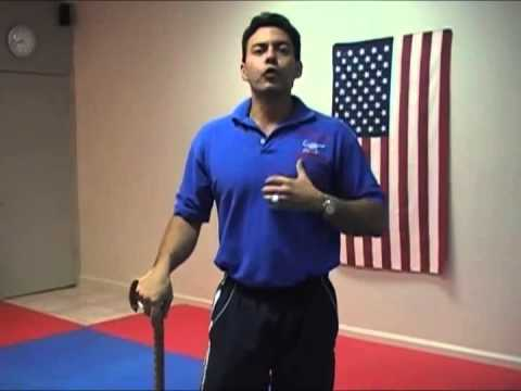 How to Develop Cane Power   American Cane Self Defense