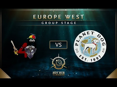 4p5 vs Planet Dog - TI7: EU Regional Qualifiers Group Stage - @TobiWan @tsunami