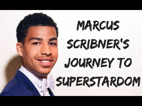 EXCLUSIVE COVER STORY: Marcus Scribner (black-ish)