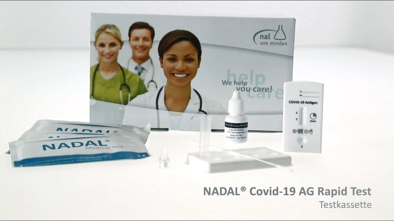 Youtube Video: NADAL® COVID-19 Ag Test - COVID-19 Antigen Schnelltest