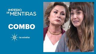 Imperio de mentiras: Renata llama 'asesina' a Victoria | C- 51 | Las Estrellas