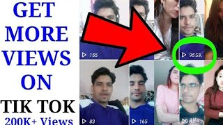 How to Get Views on Tik Tok | How to Become Famous on Tik Tok Musically