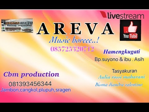 Live Streaming AREVA MUSIC// MARGO MULYO SOUND//KALITENGAH,SIDODADI,MASARAN