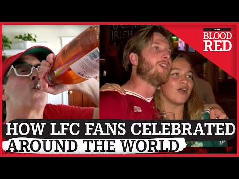 How Liverpool Fans Celebrated Title Win Around The World | Brazil, Kosovo, Boston