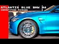 Atlantis Blue BMW M4 Competition Package