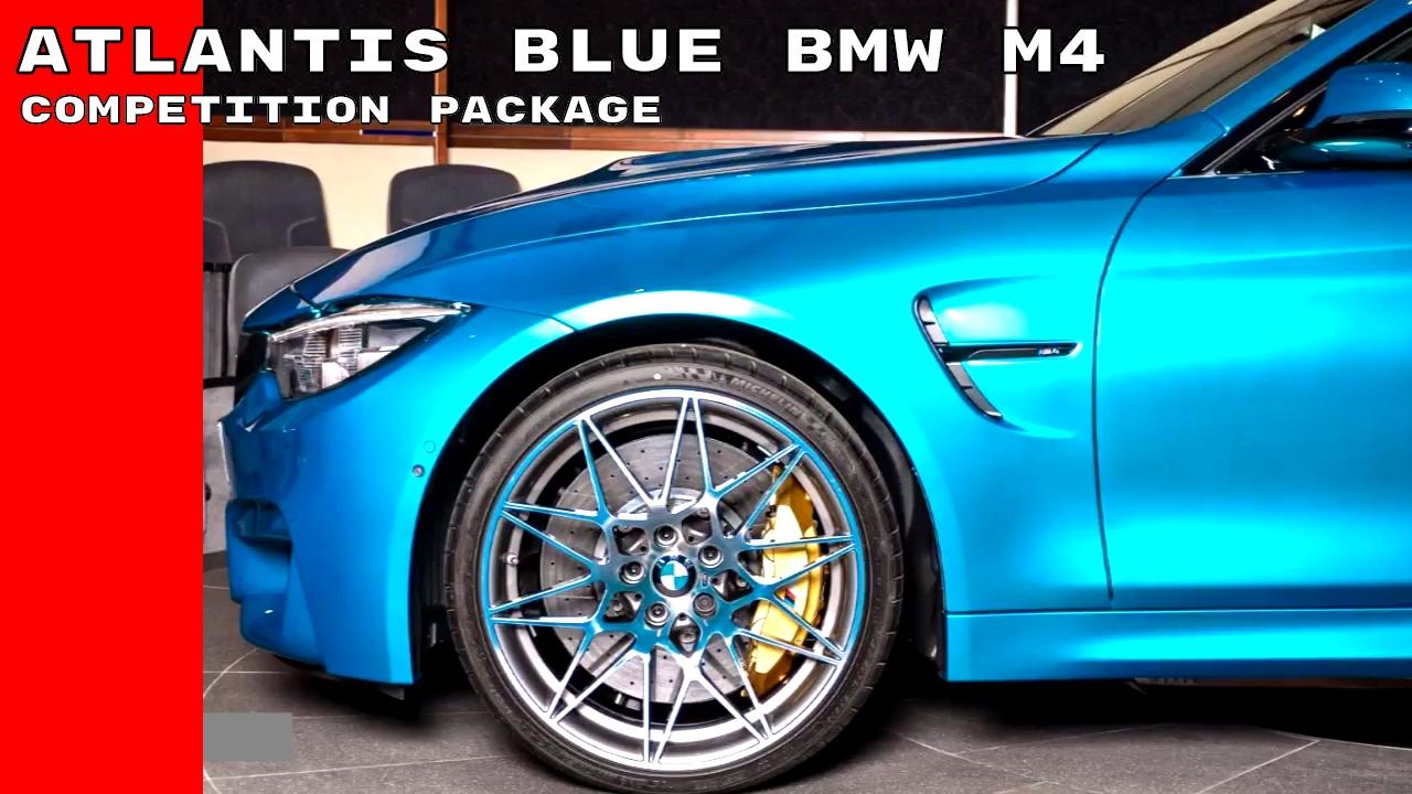 Bmw Atlantis Blue