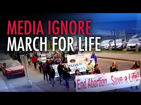 Media fails to call out bigotry of Edmonton March for Life counter-protesters