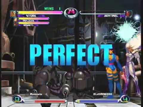 MvC2: Romneto vs ELxCremoso *Perfect* 35 .:1.17.18:.