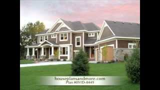 Colonial Houses Video 2 | House Plans And More
