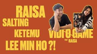 Vidi-O-Game : Cieeee Raisa Andriana ngajarin Lee Min Ho bahasa inggris