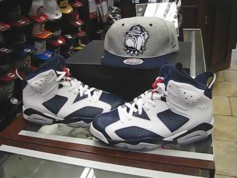 1b4e47eb28d5 Nike Air Jordan Retro 6 Olympic - White