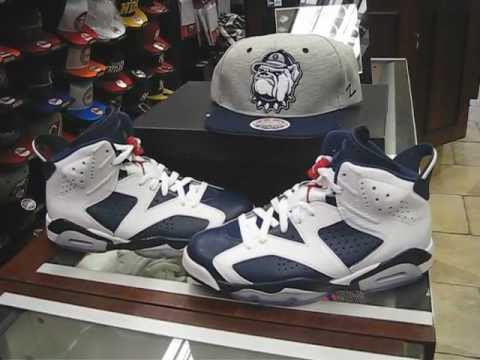 6256c82026a0f2 Nike Air Jordan Retro 6 Olympic - White