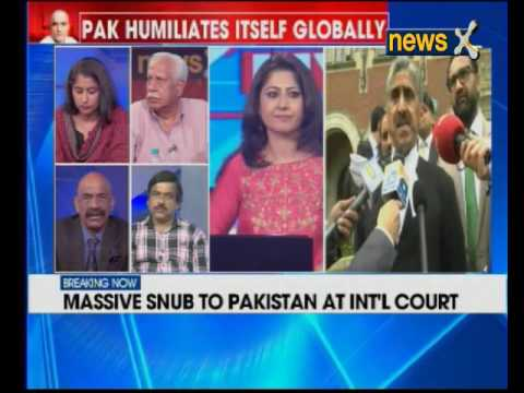 Pak not allowed to show alleged confessional video in ICJ headquarters in Hague