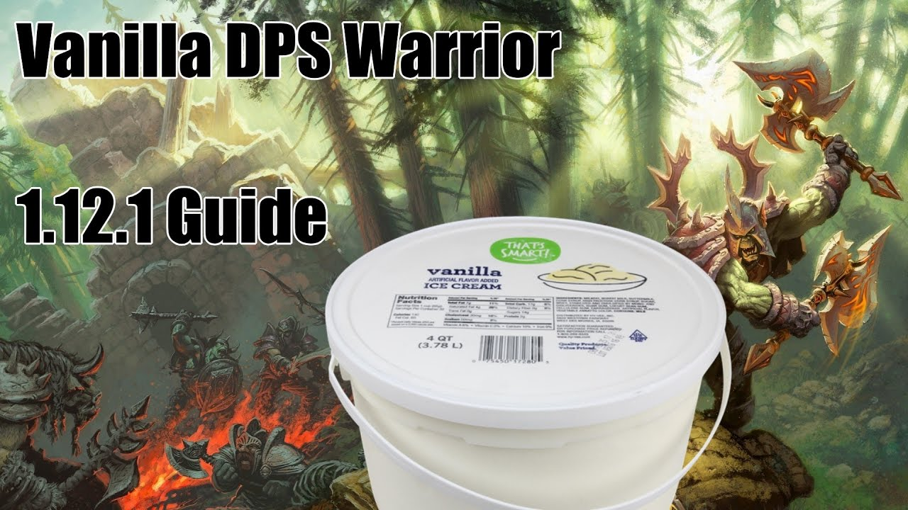Vanilla WoW [Elysium] Raiding and PvE Fury Warrior Guide!