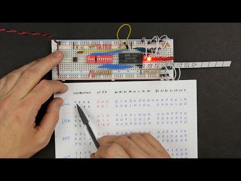 8-bit CPU control logic: Part 3
