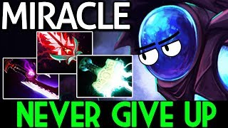 Miracle- Dota 2 [Arc Warden] Hard Game but Never Give up!