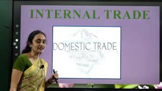 I PUC   BUSINESS STUDIES    Internal Trade -  01