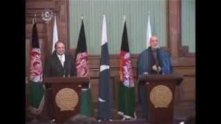 President Karzai & Prime Minister Nawaz Sharif Joint Press Conference -- Nov 30, 2013
