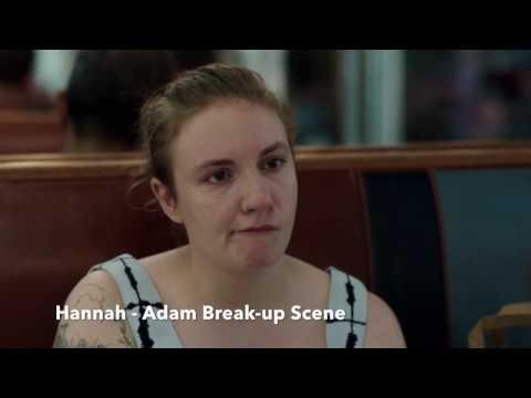 Hannah & Adam Break-up Scene - Girls Season 6 - Finale