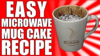 Easy Microwave Chocolate Mug Cake Recipe