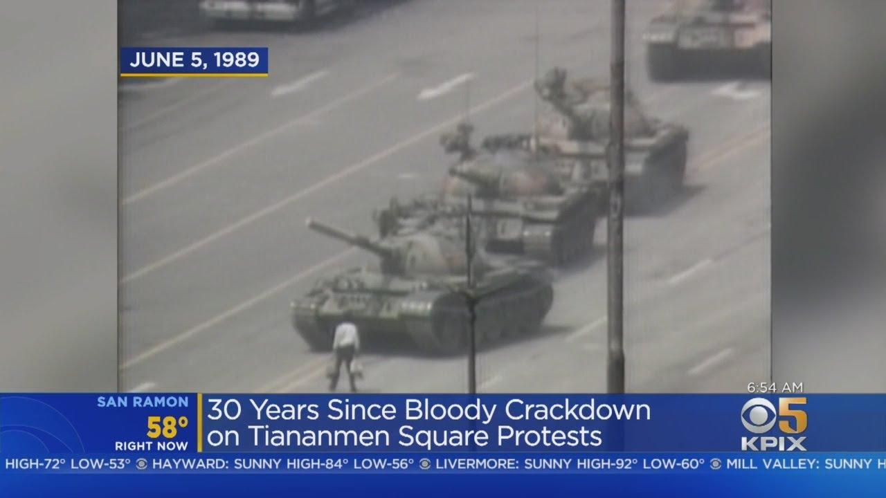 Tiananmen Square Protest Marks...