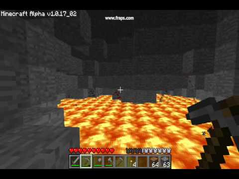 Minecraft - Very deep mining