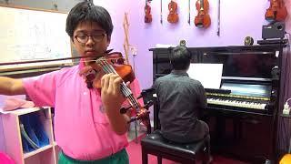 Smoke gets in your eyes - Trinity violin (2016-2019) Grade 4...