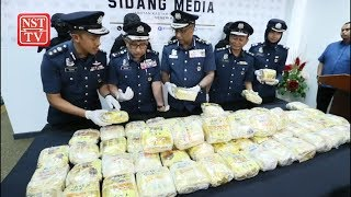 Kedah Customs foils attempt to smuggle meth worth RM3 85 million