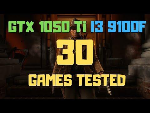 I3 9100F GTX 1050 Ti In 2020 Benchmark In 30 Games