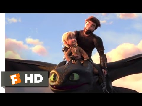 How to Train Your Dragon 3 (2019) – Toothless Returns Scene (10/10) | Movieclips