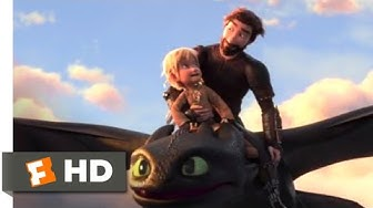 How to Train Your Dragon 3 (2019) - Toothless Returns Scene (10/10)   Movieclips