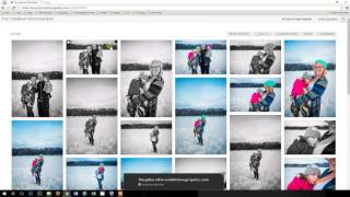 How To Download Your Digital Images from Tiny Sparrow Photography