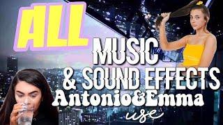 ALL THE MUSIC & SOUND EFFECTS ANTONIO GARZA AND EMMA CHAMBERLAIN USE