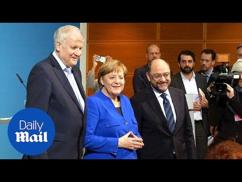 Merkel and Social Democratic Party agree on coalition talks - Daily Mail