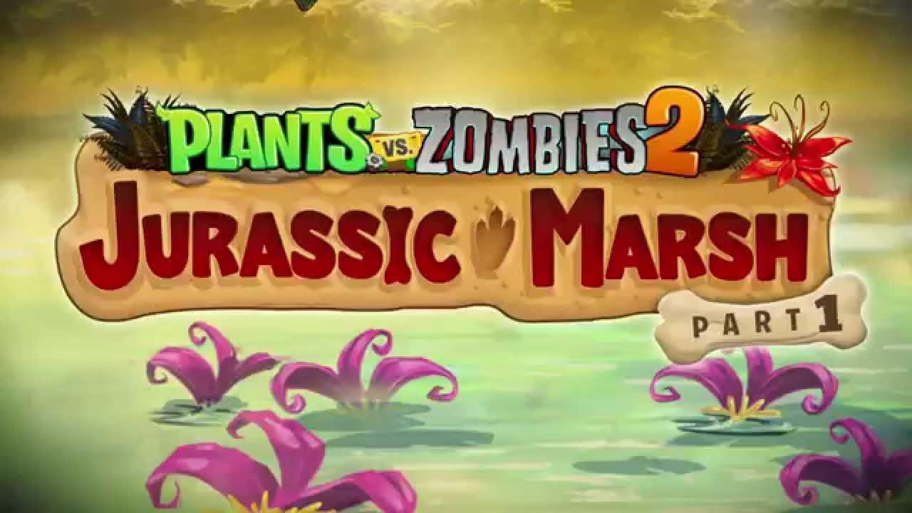 Plants vs zombies 2 jurassic marsh part 1 trailer youtube youtube premium voltagebd Gallery