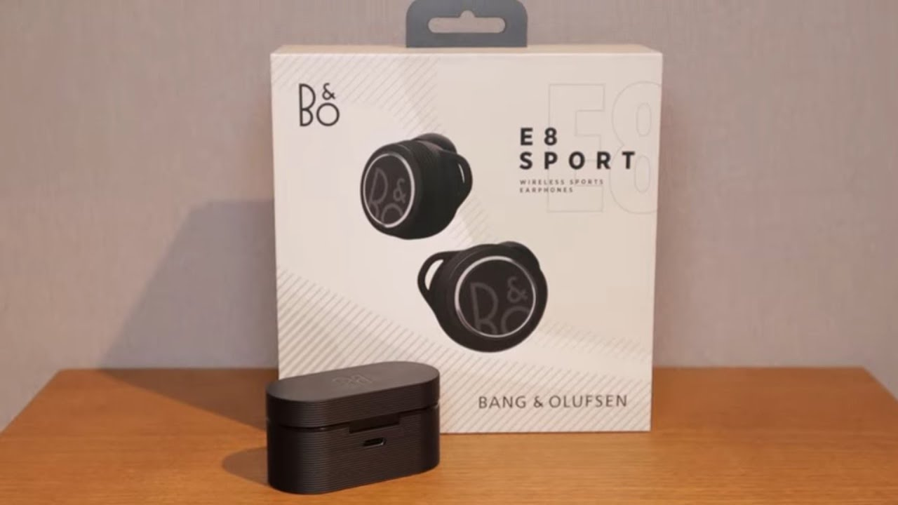 B&O E8 Sport Wireless Earphones Review & Features