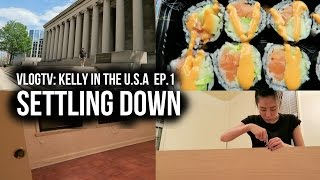 VLOG TV: Kelly In The U.S.A   EP. 1 Settling Down